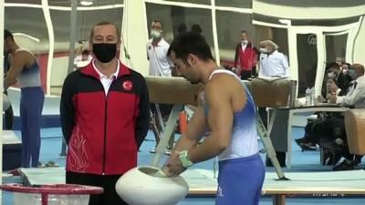 MERSİN - Artistik Cimnastik Milli Takımı kampa girdi