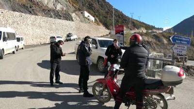 trol - ARTVİN - İki köy karantinaya alındı