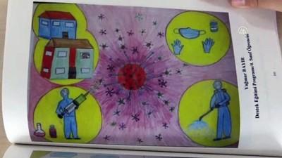ogrenciler - AYDIN - Öğrenciler Kovid-19 günlerini resim ve şiirle anlattı