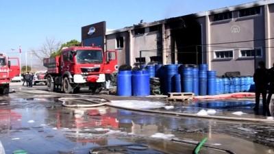 trol - BALIKESİR - Turşu fabrikasında çıkan yangın kontrol altında