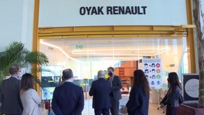 BURSA - AB Türkiye Delegasyonu Başkanı Landrut, fabrika ve tarımsal üretim tesislerini gezdi