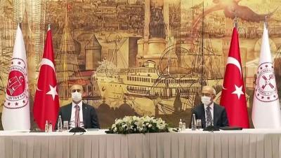 demirli - İSTANBUL - Bakan Elvan ve Gül, TÜSİAD yönetimiyle bir araya geldi
