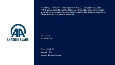 ogrenciler - İSTANBUL - İstanbul merkezli 14 ilde FETÖ'nün TSK yapılanmasına operasyon (2)