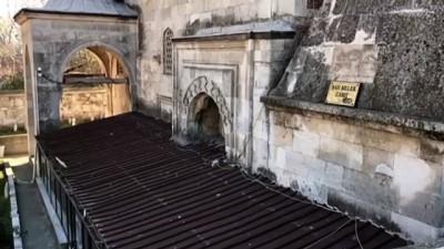 irak - EDİRNE - Tarihi camiye zarar vermeye çalışan zanlı aranıyor