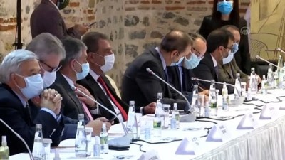 İSTANBUL - Bakan Elvan ve Gül, TOBB yönetimiyle bir araya geldi