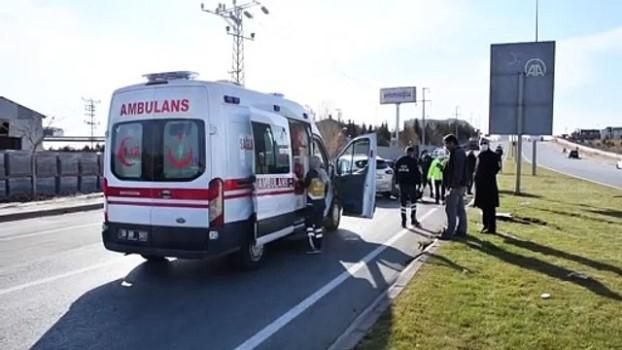 trol - SİVAS - Zincirleme trafik kazası: 7 yaralı