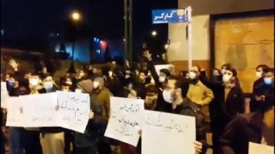 ogrenciler - TAHRAN -  Öğrenciler, İranlı nükleer fizikçiye suikastın ardından gösteri düzenledi
