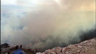 BİLECİK - Makilik alanda çıkan yangın söndürüldü