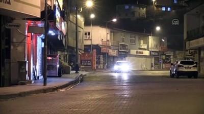 polis ekipleri - BİTİLİS - Sokaklar sessizliğe büründü