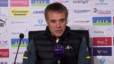 ERZURUM - Büyükşehir Belediye Erzurumspor-Fraport TAV Antalyaspor maçının ardından