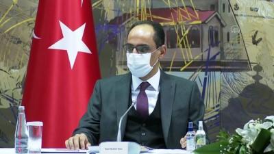 İSTANBUL - Adalet Bakanı Gül ve Cumhurbaşkanlığı Sözcüsü Kalın, azınlık cemaatlerinin temsilcileriyle buluştu (1)