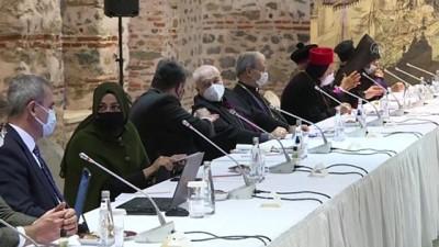 İSTANBUL - Adalet Bakanı Gül ve Cumhurbaşkanlığı Sözcüsü Kalın, azınlık cemaatlerinin temsilcileriyle buluştu (2)