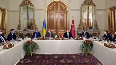 İSTANBUL - Türkiye ve Ukrayna, ivmelenen ilişkileri somut projelere dökmek istiyor