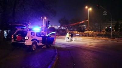 polis ekipleri - KARABÜK - Sokağa çıkma kısıtlamasının başlamasıyla sokaklar boş kaldı
