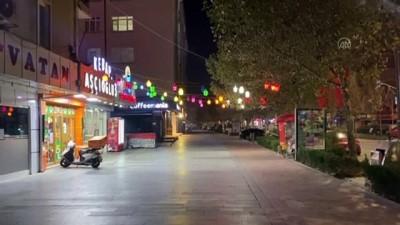 KIRŞEHİR - Sokağa çıkma kısıtlamasına uyuluyor