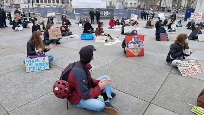 LONDRA - Fransa'daki güvenlik yasa tasarısı ve polis şiddeti İngiltere'de protesto edildi