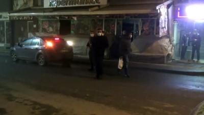 polis ekipleri - MUŞ -  Sokaklar sessizliğe büründü