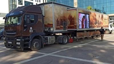OSMANİYE - Çanakkale Savaşları Mobil Müzesi ziyarete açıldı