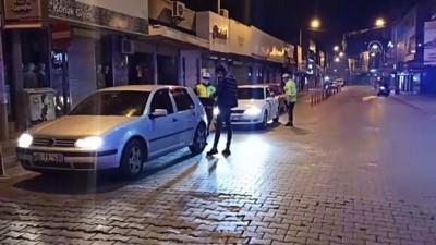 polis ekipleri - OSMANİYE - Sokağa çıkma kısıtlamasına uyuluyor