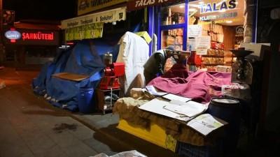 polis ekipleri - SİVAS - Sokağa çıkma kısıtlamasına uyuluyor