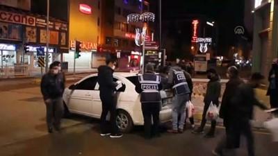 polis ekipleri - VAN - Sokaklar sessizliğe büründü