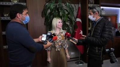 ANTALYA - Kovid-19 tedavisi gören Muhittin Böcek'in ilk görüntüleri paylaşıldı - AÜ Rektörü Prof. Dr. Özkan