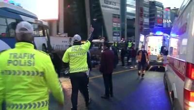 belediye otobusu -  17 kişinin yaralandığı otobüs kazası kamerada