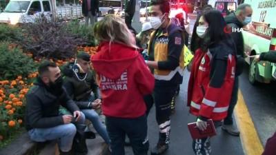 belediye otobusu -  Ankara'da kırmızı ışıkta geçen otobüs başka bir otobüse çarptı: 17 yaralı