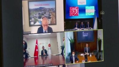 inovasyon - Özbekistan'da Teknopark İstanbul'un şubesi olan 'Talent Hub' kuluçka merkezi kurulacak - TAŞKENT