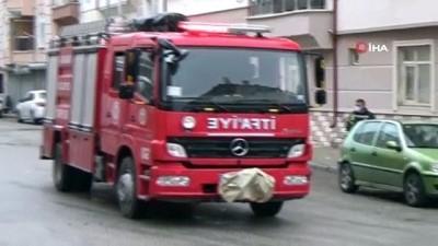 arac plakasi -  Gaz kaçağı olan otomobil korkuya neden oldu