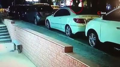 metro istasyonu -  Kadıköy'de pes dedirten hırsızlık... Otomobillerden hırsızlık yapıp Marmaray'la kaçtı