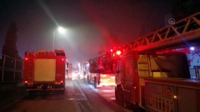 Kozmetik fabrikasında çıkan yangın söndürüldü - KOCAELİ