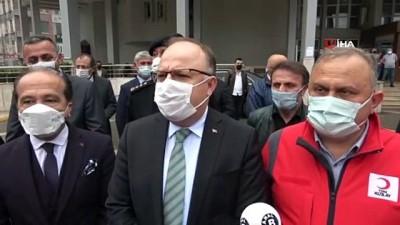 """deprem riski -  Zonguldak Valisi Mustafa Tutulmaz: """"Herkes üzerine düşeni yaparsa kimse depremden zarar görmez'"""