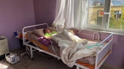 engelli kiz -  Küçük kızın doğalgaz hayali gerçekleştiriliyor