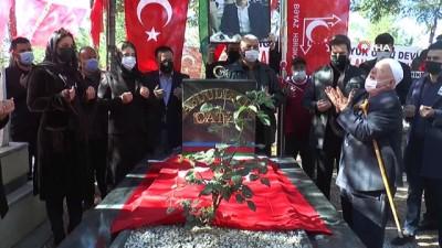 Abdullah Çatlı ölümünün 24. yıldönümünde mezarı başında anıldı