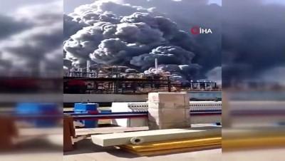 - Çin'de fabrikada patlama