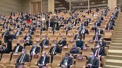 Cumhurbaşkanı Erdoğan: 'YPG'nin elebaşılarını kırmızı halılarla saraylarda ağırlayanların, bizim tavrımızı sorgulamasının hiçbir kıymetiharbiyesi yoktur' - ANKARA