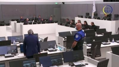 İstifa eden Kosova Cumhurbaşkanı Thaçi, Lahey'de ilk kez hakim karşısına çıktı - LAHEY