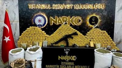 hint keneviri - Uyuşturucu operasyonunda yakalan 6 şüpheli tutuklandı - Sergi - İSTANBUL