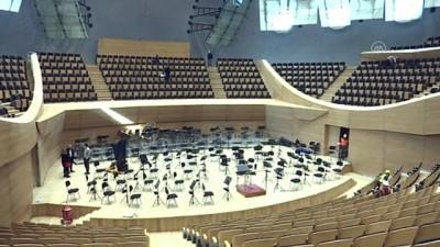 ANKARA - 194 senelik Cumhurbaşkanlığı Senfoni Orkestrasının yeni binasına tarihi açılış (4)
