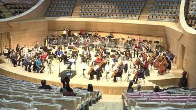 ANKARA - 194 senelik Cumhurbaşkanlığı Senfoni Orkestrasının yeni binasına tarihi açılış (5)