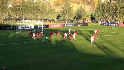 ANTALYA - Futbol: 2022 Kadınlar Avrupa Şampiyonası Elemeleri - Türkiye:1 - Rusya:2
