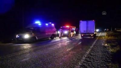 akon - AYDIN - Kamyonun çarptığı motosikletin sürücüsü hayatını kaybetti