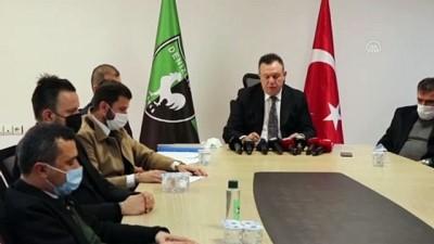 DENİZLİ - Yukatel Denizlispor, Kenan Atik ile yola devam edecek