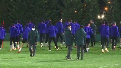 İSTANBUL - Medipol Başakşehir, Leipzig maçına hazır
