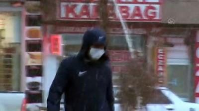 KARS - Kar yağışı etkili oldu
