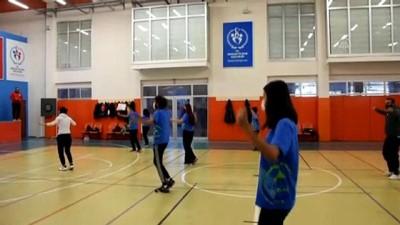 KIRŞEHİR - '7 Bölge ve 7 Yöre Projesi' ile farklı yörelere ait halk oyunları yaşatılıyor