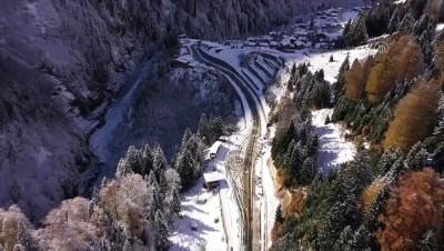 trafik sorunu - RİZE - Dünyaca ünlü Ayder Yaylası'nda dönüşüm çalışmaları sürüyor