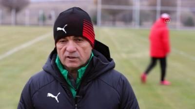SİVAS - Sivasspor Teknik Direktörü Çalımbay'dan hakem eleştirisi