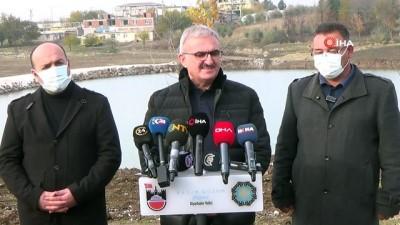 Diyarbakır Valisi Münir Karaloğlu, Karaçalı Göleti'nde inceleme yaptı